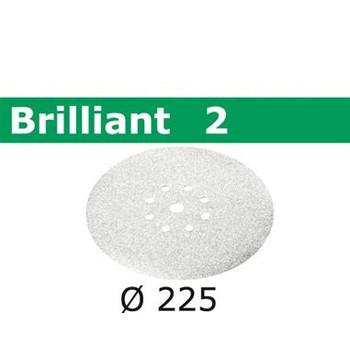 Festool 495068 9 in. P220-Grit Brilliant 2 Abrasive Sheet (25-Pack)