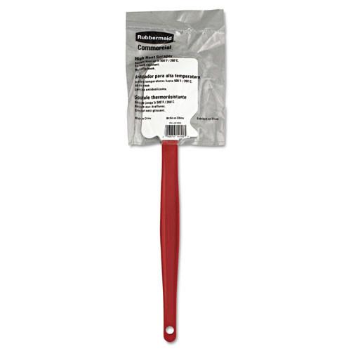 Rubbermaid 1963RED 13-1/2 in. High-Heat Cook's Scraper (Red)