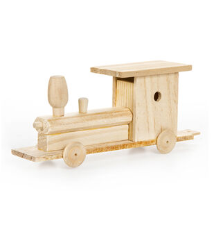Wood Model Kit-Train