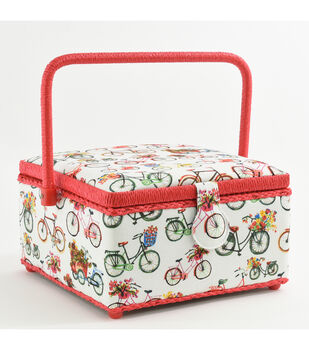 Fw21 Sew Basket Md Sq Bicycle