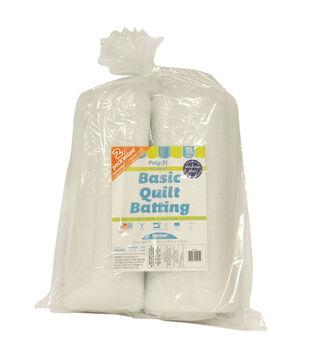 "Poly-Fil® Basic Quilt Batting 72"" x 90"" - 2 pack"