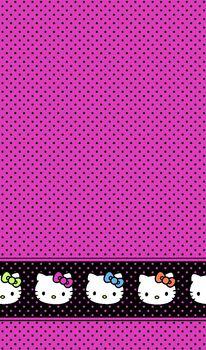 Sanrio Hello Kitty Dots Mock Smock