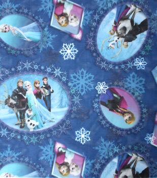 Disney Frozen Scenic Patch Sheer Fabric