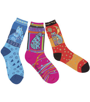 Laurel Burch Socks