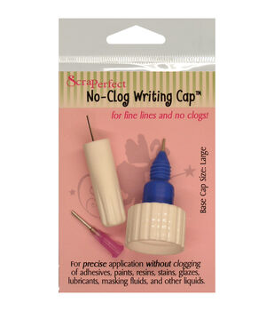 ScraPerfect Large No-Clog Writing Cap