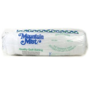 "Mountain Mist Polyester Batting 90"" x 108"""
