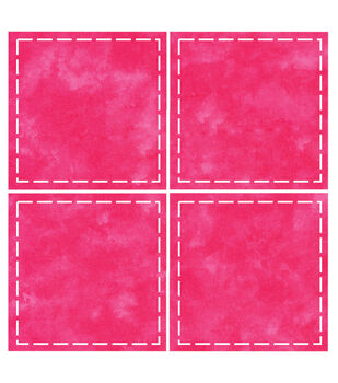 """Go! Fabric Cutting Dies-Square 4-1/2"""" Multiples"""