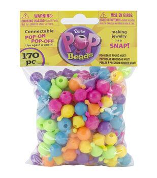 Pop Beads 170/Pkg-Rounder