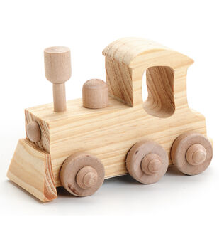 LOCOMOTIVE-WOOD TOY