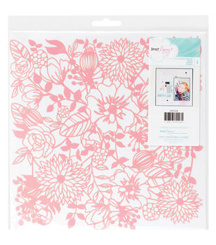 "Dear Lizzy Serendipity Stencil 12""X12""-Floral"