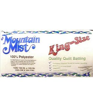 "Mountain Mist Polyester Quilt Batting 120""x120"""