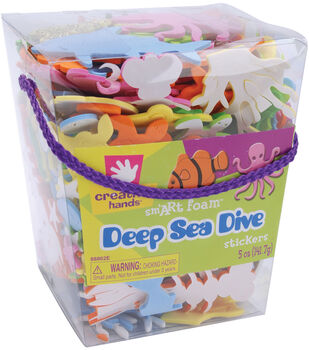 Sea Fish Sticker Bucket
