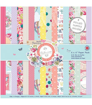 Papermania Bellissima Paper Pack 6''x6''
