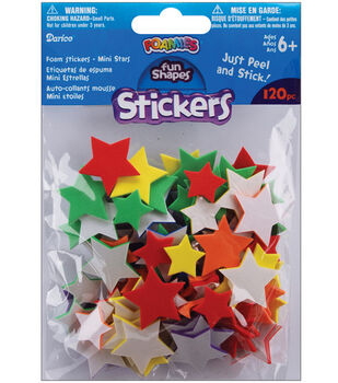 Darice Foam Stickers Mini Stars