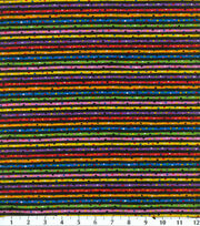 Keepsake Calico™ Cotton Fabric-Multi Bright Stripe Black, , hi-res