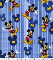 Disney Mickey Cotton Fabric, , hi-res