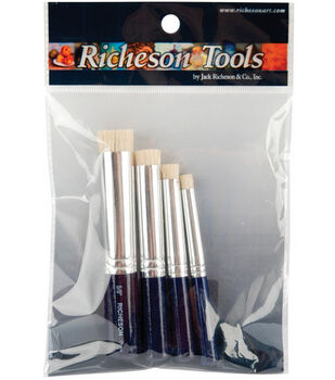 Shiva Stencil Brush Set