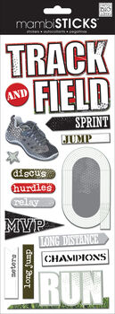 Kay Track & Field Chipboard Sticker