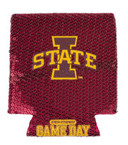Iowa State NCAA Sequin Koozie, , hi-res