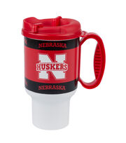 University of Nebraska NCAA 20oz Travel Mug, , hi-res