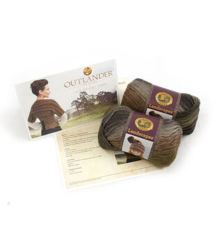 Outlander Garment Knit Kit-Claire's Captivating Castle Leoch Shrug
