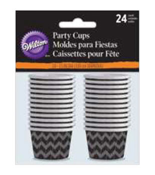 Wilton® 24pcs Mini Nut Cups-Deadly Soiree