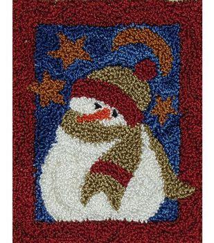 Rachel's of Greenfield Punch Needle Kit Midnight Snowman