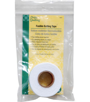 "Dritz Quilting Fusible Batting Tape 0.75""x10 Yds"