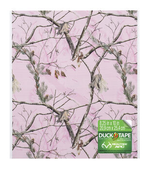 """Duck Tape Sheets Bulk 8.25""""X10""""-Pink Camouflage 6pk"""