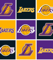 Los Angeles Lakers NBA  Fleece Fabric, , hi-res