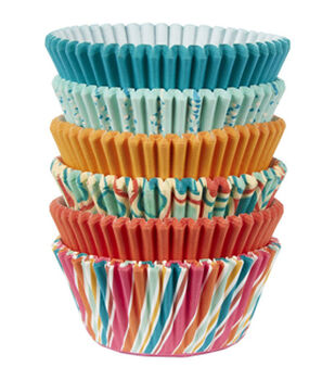 Wilton® Assorted Retro Color Baking Cups 150ct
