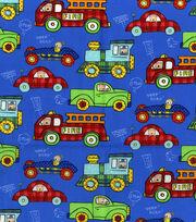 Nursery Fabric-Transportation Allover, , hi-res