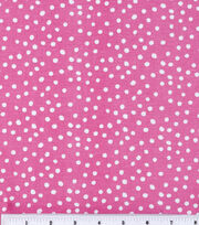 Keepsake Calico™ Cotton Fabric-Irregular Dots On Rose Pink, , hi-res