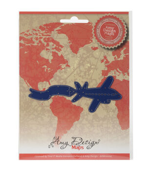 Amy Design Find It Trading Map Die-Airplane