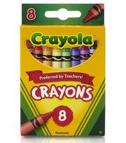 Crayola Crayons-8/Pkg, , hi-res