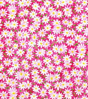 Keepsake Calico™ Cotton Fabric-Packed Daisy Pink, , hi-res