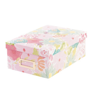DCWV Watercolor-Themed Photo Box