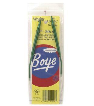 "Boye 29"" Circular Aluminum Knitting Needles-Size 10.5"