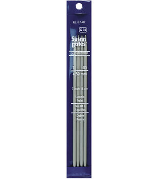 Susan Bates Quicksilver Double Pnt Knitting Needles-7''