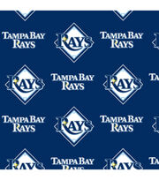 Tampa Bay Rays MLB  Fleece Fabric, , hi-res