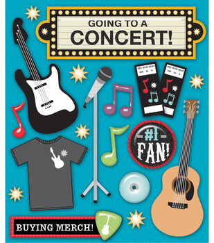 K & Company Stickers-Concerts