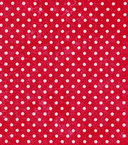 Keepsake Calico™ Cotton Fabric-Dot Texture Red, , hi-res