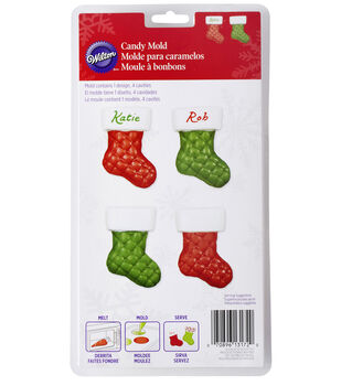 Wilton® Candy Mold-Quilted Stocking