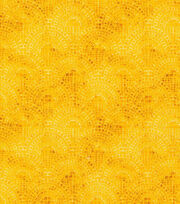 Keepsake Calico™  Cotton Fabric-Half Circle Tiles Gold, , hi-res