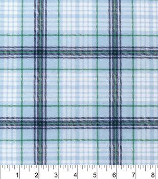 Nursery Flannel Fabric-Tucker Sweet Plaid