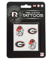 University of Georgia NCAA Peel & Stick Tattoos, , hi-res