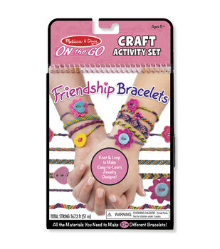 Melissa & Doug On The Go Craft Activity Set-Friendship Bracelets