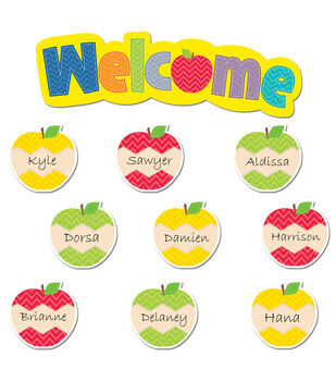 HexaFun Apples Mini Bulletin Board Set