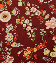 Alexander Henry Cotton Fabric-Speranza Brick Red, , hi-res