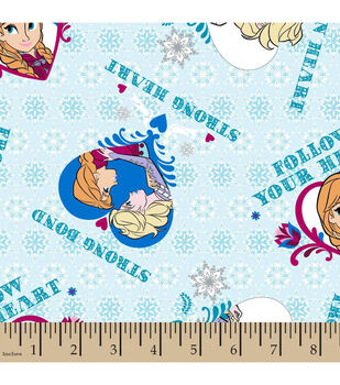 Disney® Frozen Strong Bond Cotton Fabric